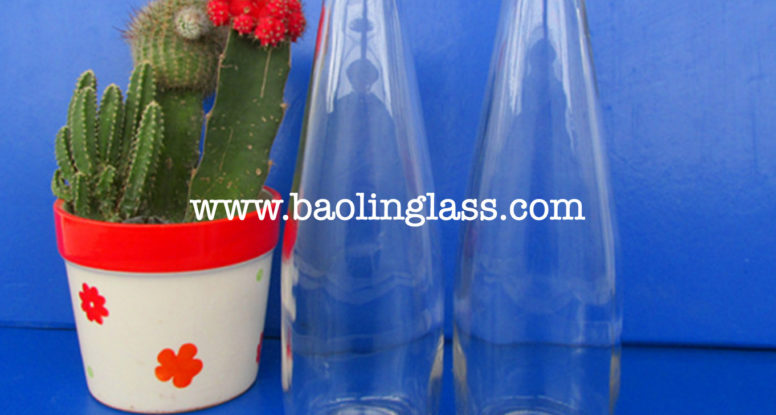 300ml glass soda water bottle juice drinking bottle