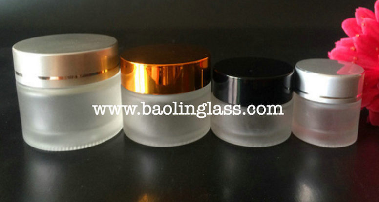5g 10g mini eye cream glass jar