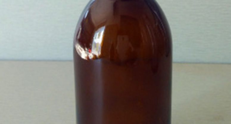 60ml 100ml 125ml 150ml dry syrup amber glass bottle