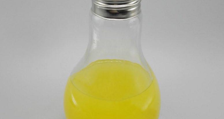 lamp bulb juice bottle