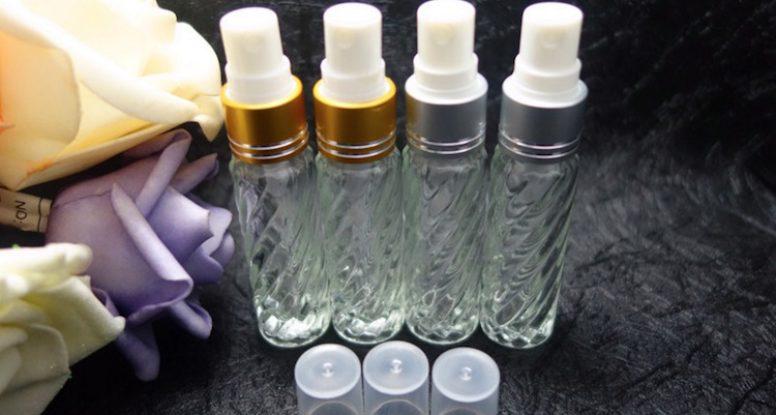 8ml glass perfume spray bottle mini perfume jar
