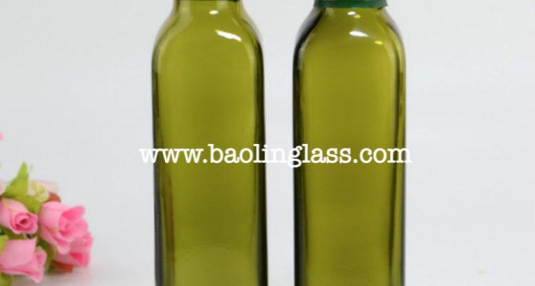 250ml olive oil glass bottles