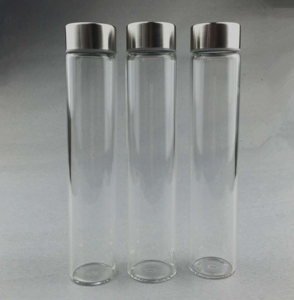 400ml Voss Shaped Glass Water Bottle