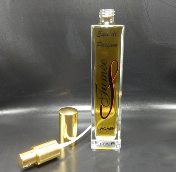 100ml Slim And Tall Rectangle Perfume Glass Bottle