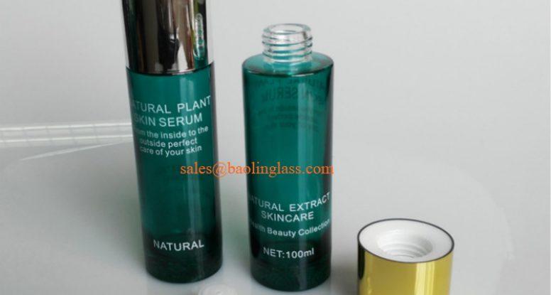 100ml skin serum & essence glass bottle