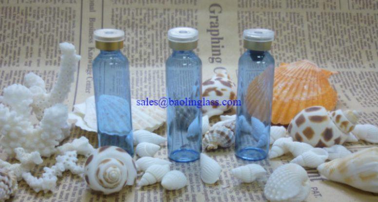 10ml blue bottle
