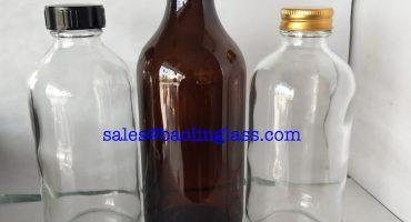 250ml Boston Amber Pharmaceutical Glass Bottle